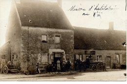 Dornes : Carte-photo épicerie-mercerie - Autres Communes