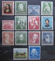 Bund Jahrgang 1952 **  Postfrisch , Komplett (Mi 148 - 161) ,  Einwandfrei - Ungebraucht