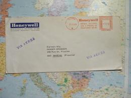 EMA Rouge Honeywell Milano  25/11/1969 - 1961-70: Marcofilia