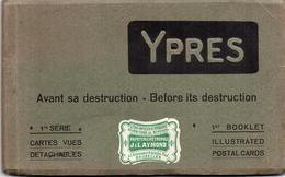 CPA Belgique Flandre Occidentale Iepper Ypres Avant Sa Destruction 10 Cartes Guerre De 14 1ère Série - Guerre 1914-18