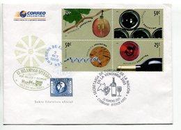VENDIMIA, VINO WINE VIN. ARGENTINA 2005 SOBRE PRIMER DIA, ENVELOPE FDC - LILHU - Vinos Y Alcoholes