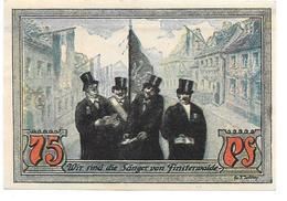 **notgeld Finsterwalde 75 Pfennig 362.1 - [11] Emissions Locales