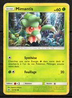 Carte Pokemon MIMANTIS 60PV / Édition Soleil Et Lune / N°14/149 - Pokemon