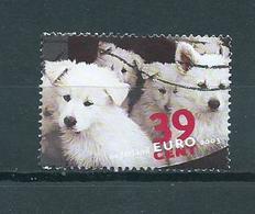 2003 Netherlands Honden,dogs,chiens Used/gebruikt/oblitere - Period 1980-... (Beatrix)