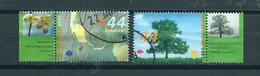 2007 Netherlands Complete Set Trees In Summer+tab Used/gebruikt/oblitere - Periode 1980-... (Beatrix)