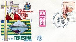 BRASIL 1980 VISIT OF THE POPE.BARGAIN.!! - Brazilië