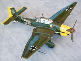 """Avion JUNKERS 87 """"STUKA"""" 1936 -1945 , 43 Cm / 1/32e En BOIS Maquette Haut De Gamme Lutwaffe 2nd Guerre Mondiale 39-45 - Aviation"""