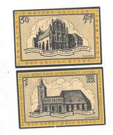 **notgeld Frankfurt 50 Pfennig +1 Mark 377.1 - [11] Emissions Locales