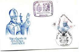 SPAIN 1982 Card. POPE VISIT SPAIN.BARGAIN.!! - Andere