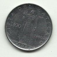 1960 - Vaticano 100 Lire - Vaticano