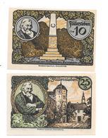 **notgeld Fallersleben 10+25 Pfennig 360/1+1 - [11] Emissions Locales
