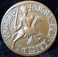 BELLE MEDAILLE Bronze , 175g  VILLE DE PALAISEAU 67 Mm GRAVEUR CATTANT  . FRANCE VINTAGE MEDAL - Touristiques