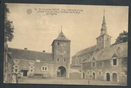 +++ CPA - Environs De HERVE - Vue Intérieur Du Vieux Château De BOLAND BOLLAND Et Eglise  // - Herve