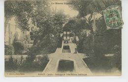 MAROC - RABAT - Jardin - Intérieur De Riche Maison Mauresque - Rabat