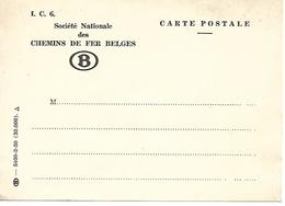 Société Nationale Des Chemins De Fer Belges Carte Postale - Chemin De Fer