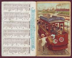CALENDRIER SEMESTRIEL 1905  BISCUIT LEFEVRE UTILE - Petit-Beurre LU / Nantes - Calendars