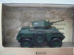 Char 1/43 Collections Atlas Avec Certificat D'autenticité Humber Car Mk IV - Vehicles