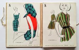 Catalogue Tissus Bourcart : Printemps-Été 1963 - Geïllustreerde Kaarten