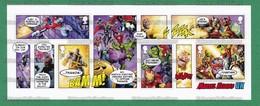 GB GREAT BRITAIN 2019 - MARVEL HEROES Comics Souvenir Sheet MNH ** - Spider-man, Thanos, Hulk, Thor, Iron-Man - As Scan - Comics