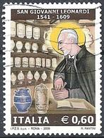 Italia, 2009 San Giovanni Leonardi 0.60 € # Sassone 3097 - Michel 3306 - Scott 2937 USATO - 6. 1946-.. República