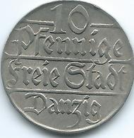 Danzig - 1923 - 10 Pfennige - KM143 - [ 3] 1918-1933 : Weimar Republic