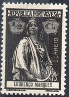 LORENZO MARQUES, LOURENCO MARQUES, PORTUGUESE COLONY, CERES, 1914, ½ C., NUOVO (MLH*)  Scott 117, YT 118, Afi 118 - Lourenco Marques