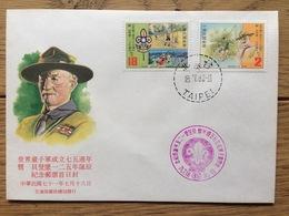 Taiwan 1982, FDC: Scout Movement Baden Powell Jamboree Scouting - 1945-... Republiek China