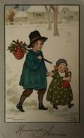 Ethel Parkinson // Heureuse Annee (M. M. Vienne) 311 France 1907 - Parkinson, Ethel
