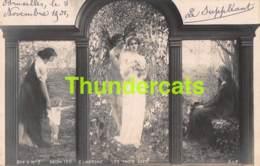 CPA PHOTO ILLUSTRATEUR PARIS SALON 1901 G LAVERGNE LES TROIS AGES - Musées