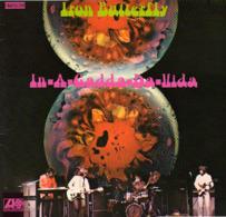 * LP *  Iron Butterfly - In-A-Gadda-Da-Vida - Rock