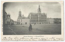 Sint-Niklaas - Saint-Nicolas - Grand'Place - D.V.D. 7427 Pté P. Gilleman - 1901 - Sint-Niklaas