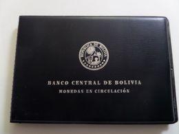 Bolivia National Bank 7 Coins Set UNC - Bolivia