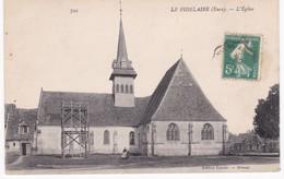 27 Eure -  LE FIDELAIRE - L'Eglise - Echafaudage - France