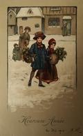 Ethel Parkinson // Heureuse Annee (M. M. Vienne) 504 France 1910 - Parkinson, Ethel