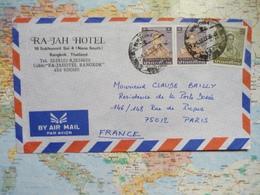 Lettre Pour La France Des Années 1980 - Thaïlande