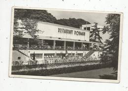 Cp , Hôtels & Restaurants ,  RESTAURANT ROUMAIN , Exposition Internationale ,PARIS , 1937, Vierge , Ed. Chipault - Hotels & Restaurants
