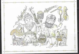 LITHUANIA, 2019, MINT POSTAL STATIONERY, PREPAID POSTCARD, KAZIUKAS' FAIR, BREAD, FOOD, CULTURE - Celebrations