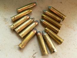 Lot De 13 Cartouches 357 Magnum Neutralisées - Decorative Weapons