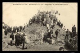 51 - BERGERES LES VERTUS - Mont Aimé (15 Août 1910) - Inauguration De La Table D'Orientation - Other Municipalities