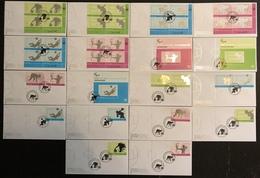 Nations Unies FDC - Premier Jour - Lot De 18 FDC - Thématique Sports - 2012 - Timbres