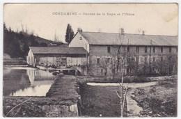 Jura - Condamine - Source De La Doye Et L'usine - Frankrijk