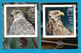 Island  2019 , EUROPA CEPT National  Birds - Selbstklebend - Self-adhesive - Gestempelt / Fine Used / (o) - 2019