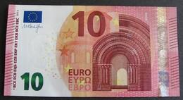 "10 Euro Irlande ""TA"" 2014 Draghi T001C5 LUXE / UNC - EURO"