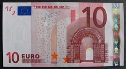 """10 Euro France """"U"""" 2002 Trichet L041D4 LUXE / UNC - EURO"""
