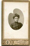 RETRATO DE UNA MUJER, PORTRAIT OF A WOMAN, PORTRAIT D'UNE FEMME. FOTO ANTIGUA, OLD PHOTO, CIRCA 1880 - LILHU - Fotos