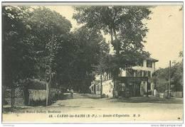 64 - CAMBO LES BAINS / ROUTE D'ESPELETTE (BUREAU DE TABACS) - Cambo-les-Bains