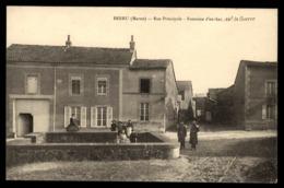 51 - BERRU (Marne) - Rue Principale - Fontaine D'En Bas Avt La Guerre - Autres Communes