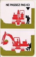 Autocollant -    Grand Modèle    -   NE PASSEZ PAS ICI    Sécurité - Stickers