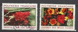 Polynésie  Poste N°   83  Et 84  Fleur Rouge Et Hibiscus    Oblitérés B/TB  ..   Soldé à Moins De 20 %  ! ! - Gebruikt