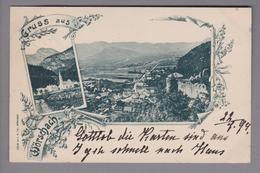 AK AT Steiermark Wörschach 1899-07-22 K.M.Eibl Foto - Autriche